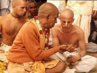 A devotee is a brahmana