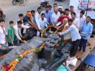 Lord Sankarshan Comes from Tirupati to Govardhan