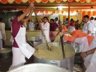 Prasadam to more than 17,000 pilgrims