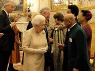 An audience with the Queen at Buckingham Palace