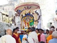 Brahmaji's festival in Vrindavan