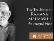 The Teachings of Ramana Maharshi: An Integral View
