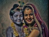 Secret appearance of Vrajendra Nandan Krishna!