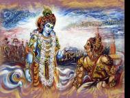 MYTHS OF ARJUNA AND KRSNA