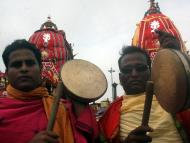 Chariots Roll on Puri Grand Road on Rath Yatra