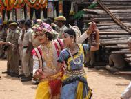 Jagannath on Bahuda Yatra